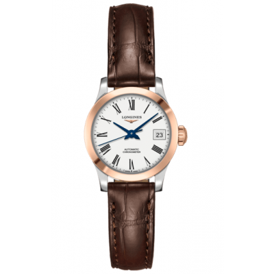 Longines Record L23205112 Zlato, Automat, 26 mm
