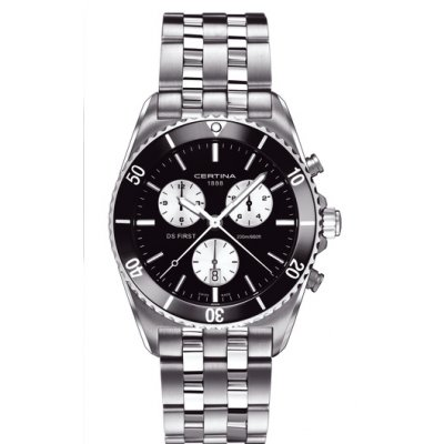Certina DS First C014.417.11.051.01 CERAMIC, Quartz Chronograf, 42 mm