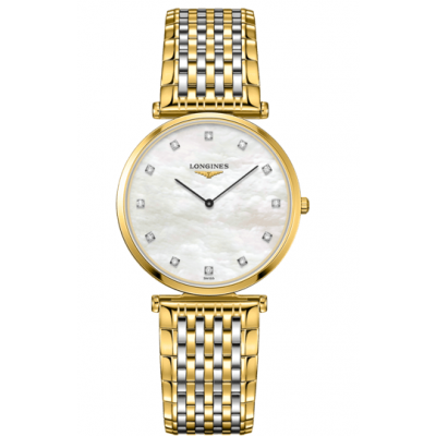 Longines La Grande Classique de Longines L47092887 Diamanty, Quartz, 33 mm