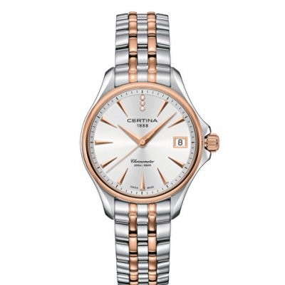 Certina DS Action Lady C032.051.22.036.00 Diamanty, Vode odolnosť 100M, 34 mm