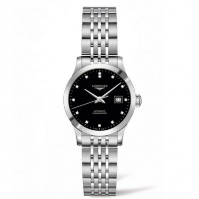 Longines Record L23214576 Diamanty, Automat, 30 mm