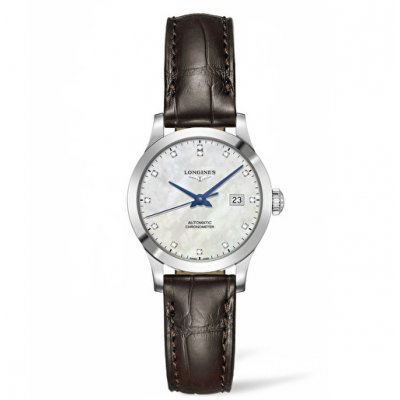 Longines Record L23214872 Diamanty, Automat, 30 mm
