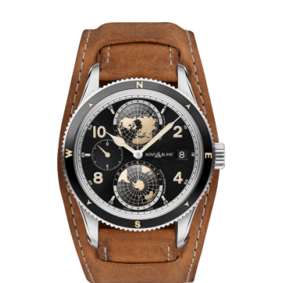 Mont Blanc 1858 Collection 117838 Automat, Geosphere, 42 mm