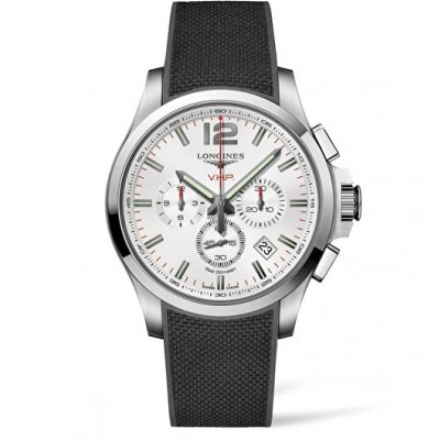 Longines Conquest V.H.P L37274769 Quartz Chronograf, 44 mm