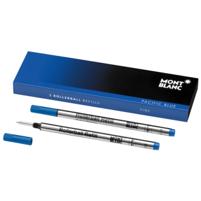 Mont Blanc 105163 Tuhy, Rollerball, Pacific Blue, (F)