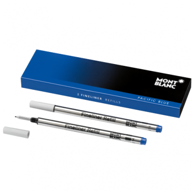 Mont Blanc 105171 Tuhy, Fineliner, Pacific Blue, (B)