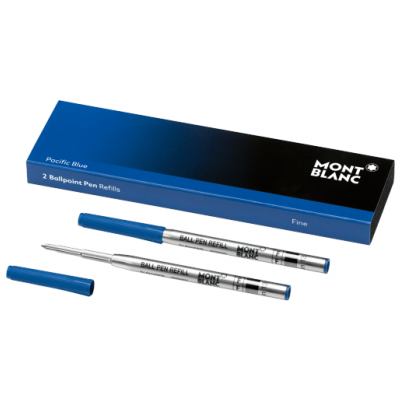 Mont Blanc 116212 Tuhy, Ballpoint, Pacific Blue, (F)