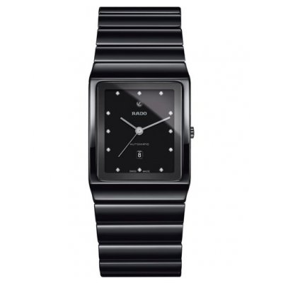 Rado Ceramica R21 807 70 2 Ceramic, Diamonds, Automatic, 30 x 41.7 mm