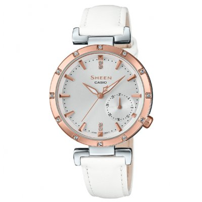 Casio SHEEN SHE 4051PGL-7A Quartz, 37 mm