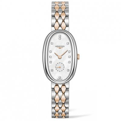 Longines Symphonette L23065877 Diamonds, Quartz, 21.90 x 34.00