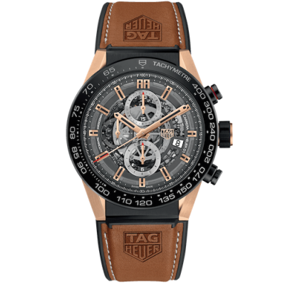 TAG Heuer Carrera Heuer 01 CAR2A5C.FT6125 Manufaktúrny kaliber, 45 mm