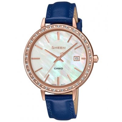 Casio SHEEN SHE 4052PGL-7A SWAROVSKI, Quartz, 36 mm