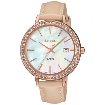 Casio SHEEN SHE 4052PGL-7B SWAROVSKI, Quartz, 36 mm