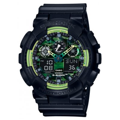 Casio G-SHOCK GA 100LY-1A Vode odolnosť 200M, Quartz, 51.2 mm