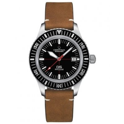 Certina Heritage DS C036.407.16.050.00 PH200, Powermatic 80, Water resistance 200M, 43 mm