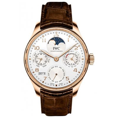 IWC Portugieser PERPETUAL CALENDAR IW503302 In-house movement, 44.2 mm
