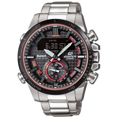Casio EDIFICE ECB 800DB-1A Bluetooth, Solar, Chronograf, 49.20 mm