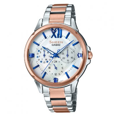 Casio SHEEN SHE 3056SPG-7A Quartz, 37 mm