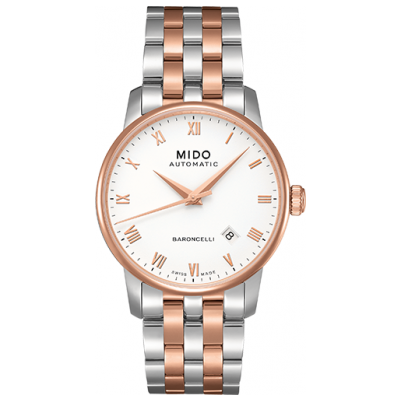 Mido Baroncelli M86009N61 Automat, 38 mm