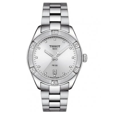 Tissot T-Sport T101.910.11.036.00 PR 100 Sport Chic, Diamonds, 36 mm