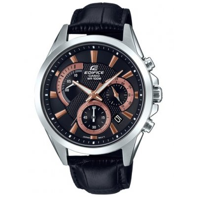 Casio EDIFICE EFV 580L-1A Quartz, Chronograf, 43.80 mm