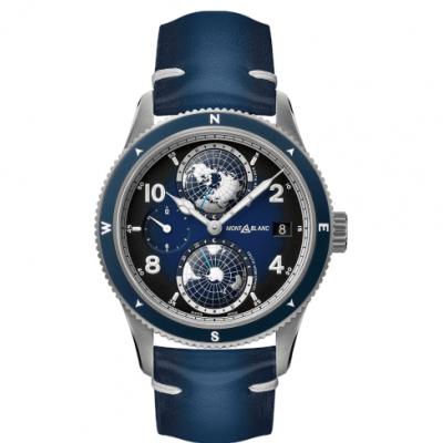 Mont Blanc 1858 Collection Geosphere 125565 Automat, GMT, 42 mm