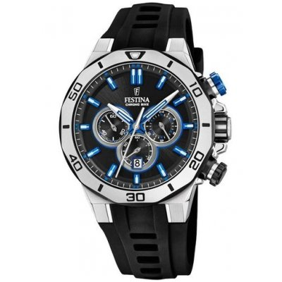 Festina Chrono bike F20449/2 Quartz Chronograf, Vode odolnosť 100M, 44 mm