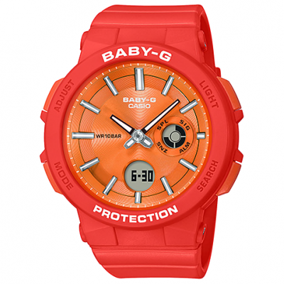 Casio BABY-G BGA 255-4A Water resistance 100M, Quartz, 41 mm