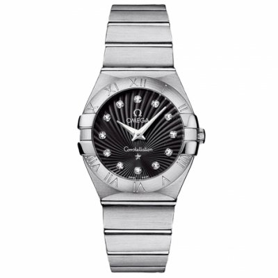 Omega Constellation 123.10.27.60.51.001 Diamanty, Quartz, 27 mm