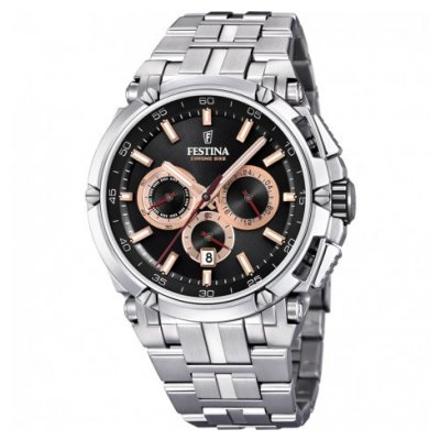 Festina Chrono bike F20327/8 Water resistance 100M, Quartz Chronograph, 44 mm