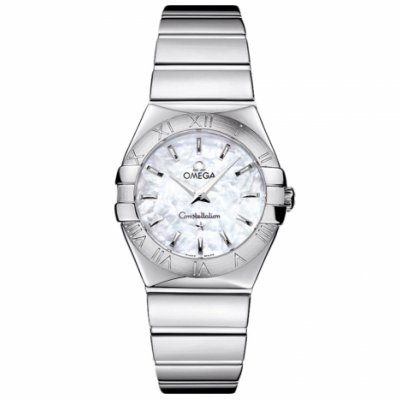 Omega Constellation 123.10.27.60.05.002 Polished Case, Quartz, 27 mm