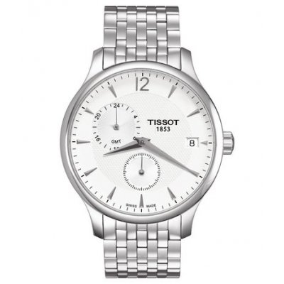 Tissot T-Classic T063.639.11.037.00 Tradition, GMT, Quartz, 42 mm