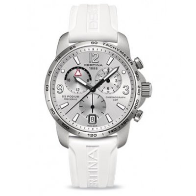 Certina DS Podium C001.639.97.037.00 GMT Aluminium, Quartz Chronograf, 42 mm