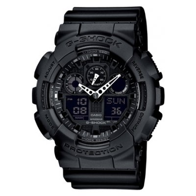 Casio G-SHOCK GA 100-1A1 Vodotěsnost 200M, Quartz, 51.2 mm