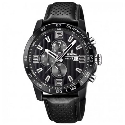 Festina The Originals F20339/6 Quartz Chronograf, 44.8 mm