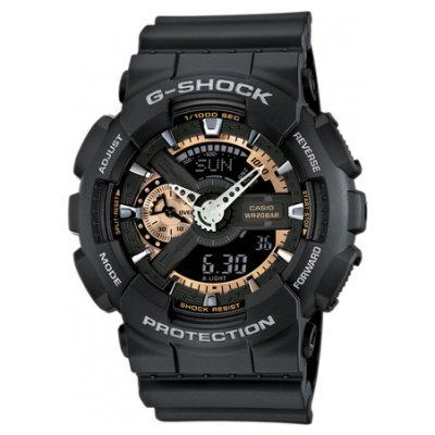 Casio G-SHOCK GA 110RG-1A Vodotěsnost 200M, Quartz, 51.2 mm