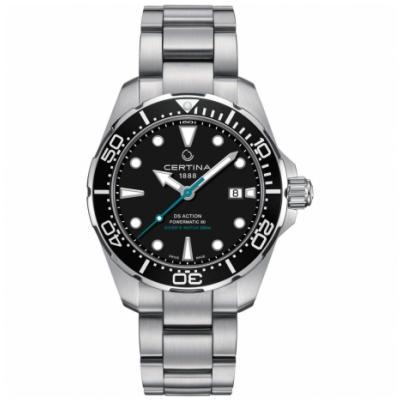 Certina DS Action Diver C032.407.11.051.10 Powermatic 80, Water resistance 300M, 43 mm
