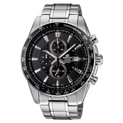 Casio EDIFICE EF 547D-1A1 Vode odolnosť 100M, Quartz Chronograf, 44.5 mm