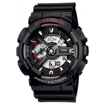 Casio G-SHOCK GA 110-1A Vodotěsnost 200M, Quartz, 51.2 mm