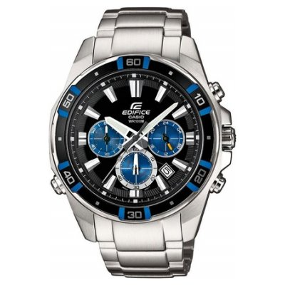 Casio EDIFICE EFR 534D-1A2 Vode odolnosť 100M, Quartz Chronograf, 46 mm