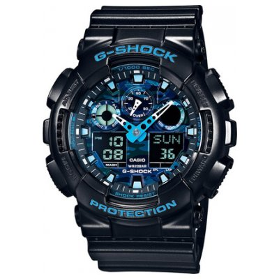 Casio G-SHOCK GA 100CB-1A Water resistance 200M, Quartz, 51.2 mm