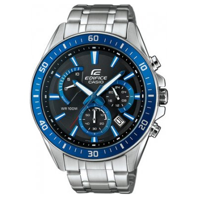 Casio EDIFICE EFR 552D-1A2 Vode odolnosť 100M ,Quartz Chronograf, 47 mm