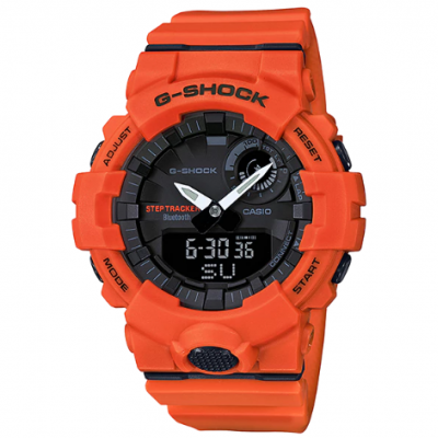 Casio G-SHOCK GBA 800-4A Bluetooth, Krokomer, Vode odolnosť 200M, 54.10 mm