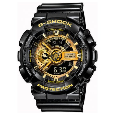 Casio G-SHOCK GA 110GB-1A Vode odolnosť 200M, Quartz, 51.2 mm