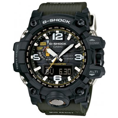 Casio G-SHOCK GWG 1000-1A3 Water resistance 200M, Quartz, 56 mm
