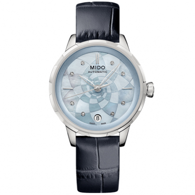 Mido Rainflower M0432071613100 Diamanty, Automat, 34 mm
