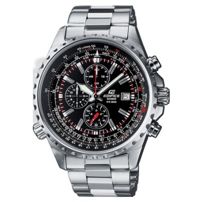 Casio EDIFICE EF 527D-1A Vode odolnosť 100M, Quartz Chronograf, 45.5 mm