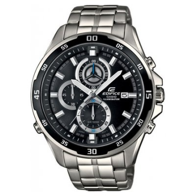 Casio EDIFICE EFR 547D-1A Vode odolnosť 100M, Quartz Chronograf, 47.2 mm