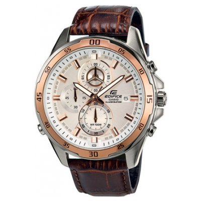 Casio EDIFICE EFR 547L-7A Vode odolnosť 100M, Quartz Chronograf, 47.2 mm