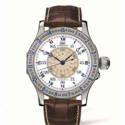 Longines Heritage L26784110 The Lindbergh Watch, Automat, 47.50 mm
